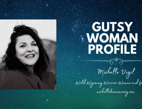 1st Podcast with Dr. Brenda K. Uekert, creator of Gutsy Women Club